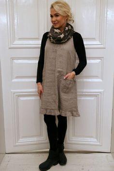 Linen dress NATURAL