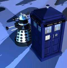 Dalek, Blue Box, Dr Who, Tardis, Empire, I Am Awesome, Best Friends, Inspiration, Doctor Who