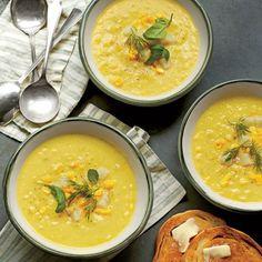 Summer Corn-and-Golden Potato Chowder