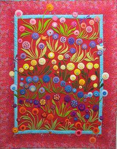colorful wool applique | Heirloom » Handmade 2013