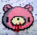 Gloomy bear Hama beads
