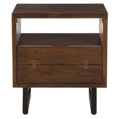 High Quality Shop For Glenwood Walnut Night Chest. Get Free Shipping At Overstock.com    Your · Furniture OutletOnline ...