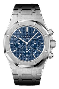 Audemars Piguet - Audemars Piguet Royal Oak Selfwinding Blue Chronograph 41mm | 26320ST.00.1220ST.03
