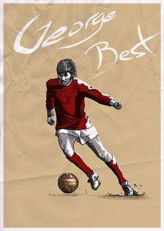 #ManchesterUnited (1963-1974) - #GeorgeBest #7
