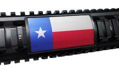 Handguard Rail Cover: Texas State Flag - Large PERMODIZE® (PMA)
