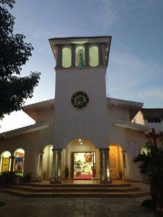 Iglesia principal PtoMorelos Q Roo Ideal para tu boda en RivieraMaya