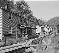 Berwind, WV Mystery of history, West virginia, House styles