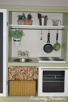Kid kitchen set hack