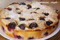 Délicieusement... simple !: Gâteau autrichien aux quetsches du magazine Marmit...