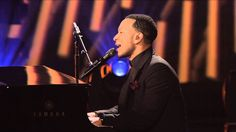 """John Legend with Lindsey Stirling, """"All of Me"""" -- Live at the Kennedy Ce..."""