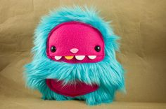 Baby Ape - Teal with Hot Pink. $32.00, via Etsy.