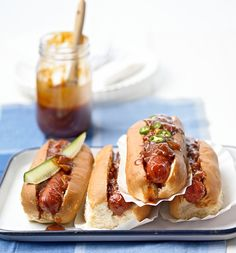#Entertaining is a breeze when you use quick and #easyrecipes like these. #hotdogs #salad #burgers