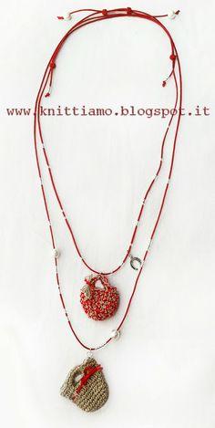#borsa #uncinetto #handmade #faidate #collana