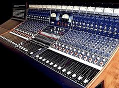 This console was the second original Neve badged console dating back to 1969.