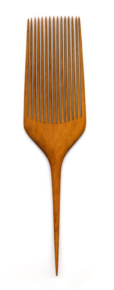 Another Japanese wooden comb, made of boxwood