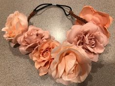 STUNNING FLOWER HEADBAND Accessories Flowergirl Hair Band Fashion Floral Pretty  | eBay