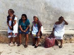 The wise Mayan women of Chichimila.  #mexico #yucatan