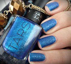Inspiration on Blu Imperiale by Romana V. Check out more Nails on Bellashoot. Blue Glitter Nails, Colorful Nail Art, Nail Polish Art, Butter London, Nail Art Diy, Sally Hansen, China Glaze, Nail Tech, Pretty Nails