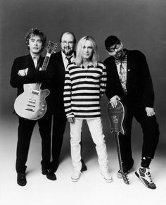Members of the band Cheap Trick.