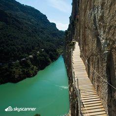El Caminito del Rey, Park Narodowy Desfiladero de los Gaitanes, Hiszpania