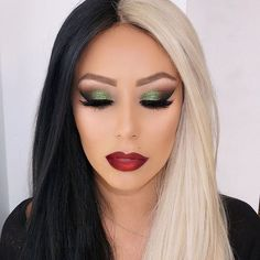 "Vanity makeup on Instagram: ""Cruelly Deville glam on @aubreyoday two tone lip using #anastasiabeverlyhills sad girl and American doll"""