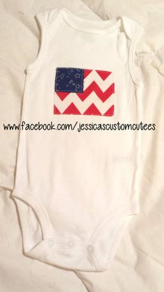 Independence Day. 4th of July Onesie/ bodysuit. by LittleCutees, $12.00