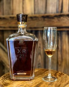 We recently had the opportunity of pouring this bottle of The John Walker & Sons XR 21 year scotch! The legs created on the glass were amazing and one of the first characteristics we noticed. The nose was full of fruit, and the palate came with flavors of sweet golden raisins for us. This fine single malt was one we sipped slowly and savored over conversation and great stories! This is definitely one to remember! @johnniewalker