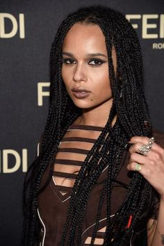 Zoe Kravitz's best beauty looks over the past 10 years—2015