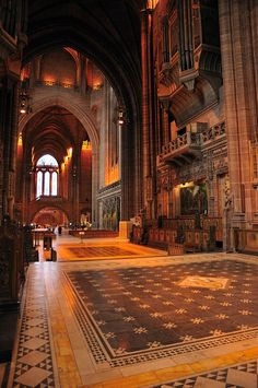 Cathedral Church of Christ in Liverpool, via Flickr.