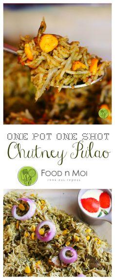 Chutney Pulao - FoodnMoi