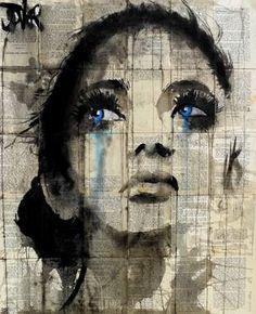 """Saatchi Art Artist Loui Jover; Drawing, """"fields"""" #art"""