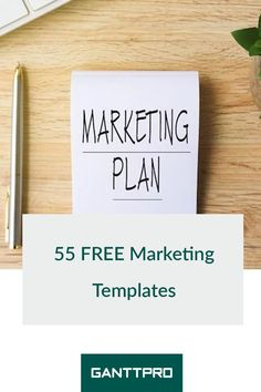 Create your marketing plan in minutes using the ready-made Gantt chart marketing plan templates.