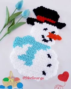 Free Applique Patterns, Knit World, Diy And Crafts, Hello Kitty, Crochet Hats, Vintage, Instagram, Craftsman Homes, Homemade Home Decor
