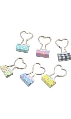 Cartoon Clip Binder clips Financial Paper Clips Random Color Heart-shaped Best Price