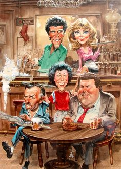 Cheers, one of the best sitcoms of all-time.