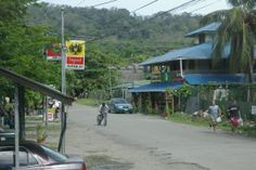Limon Province - The little town of Puerto Viejo is a world famous resort.