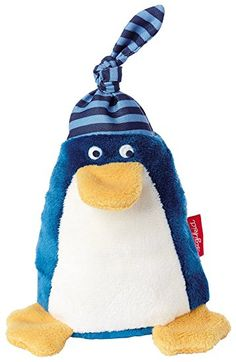 sigikid, Jungen, Greifling und Rassel Pinguin, Blau, 41185