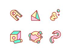 Abstract Icons by Jakob Scott