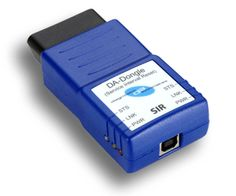 The DA-SIR Dongle connects directly to the vehicle OBDII (diagnostic) connector and is a stand-alone product. The device does not need to be used with OEM JLR IDS/SDD software.  Once connected to the OBDII connector it will perform the Service Interval Reset via diagnostic communication to the Instrument Cluster module. This will remove the service warning from the Instrument Cluster and reset the counter in preparation for the next service interval
