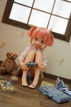 Puella Magi Madoka magica - A Gaming Weekend- Azone doll