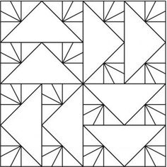 modern quilting designs Pick from 25 inspiration Flying Geese quilting designs. Patchwork Quilt Patterns, Machine Quilting Patterns, Quilting Templates, Modern Quilt Patterns, Longarm Quilting, Free Motion Quilting, Quilting Ideas, Quilting Rulers, Quilt Baby