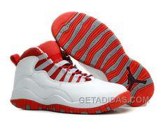 d2030aa9a2f6e4 Air Jordans 10 Retro White  Varsity Red For Sale Cheap To Buy 66xAz