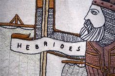 """Somerled """"Lord of the Isles"""" - The Celtic Hero credited with driving the Vikings out of western Scotland, was himself a descendent of Norse Vikings."""