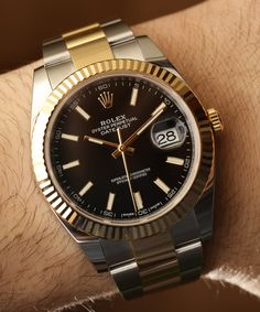 Rolex Datejust 41 Two-Tone Watches Hands-On