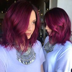 http://www.makethingspositive.com/purple-long-bob-on-thick-hair-with-slight-wave/