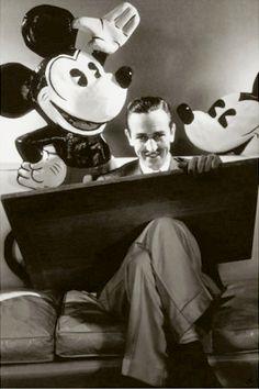 Walt Disney  steichen/ vanity fair 1933