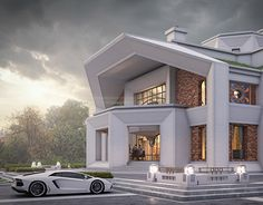 """Check out new work on my @Behance portfolio: """"Art Deco style mansion"""" http://be.net/gallery/59058287/Art-Deco-style-mansion"""