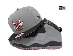 Chicago Bulls White Navy Scarlet Gold AJ VII Olympic New Era 59Fifty Fitted Hat