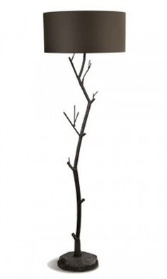 Tree Branches With Lamps Are Wonderful, Stylish And Functional Home  Decorations That Are Easy To Make, Impressive And Inexpensive