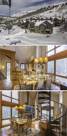 Slopeside Retreat at the Terraces: a great ski in/ski out escape. What's up ahead at this mountainside retreat? Just look outside your balcony window. The slopes, because you're in a ski in/ski out property. Your home is about the whole family with a spiral staircase to twirl down, a spacious family room, and a loft. Check out the gorgeous hardwood floors and stone fireplace; just the perfect place to warm up after a long day in the snow. This vacation rental sleeps 10.